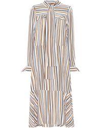 Dorothee Schumacher - Offbeat Lines Silk Dress - Lyst