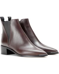 Acne Studios - Jensen Leather Ankle Boots - Lyst