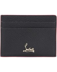 Christian Louboutin - Leather Card Holder - Lyst