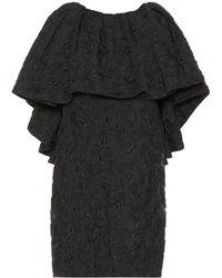 CALVIN KLEIN 205W39NYC - Silk-blend Jacquard Minidress - Lyst