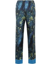 F.R.S For Restless Sleepers - Etere Silk Pyjama Trousers - Lyst