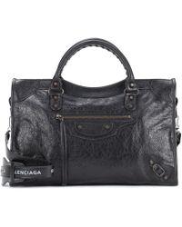ebcb7a6c14 Balenciaga - Classic City Medium Leather Shoulder Bag - Lyst