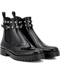 RED Valentino - Embellished Chelsea Boots - Lyst