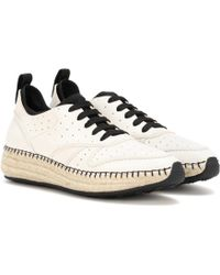 Tod's - Leather Sneakers - Lyst