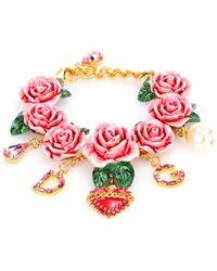 Dolce & Gabbana - Embellished Bracelet - Lyst