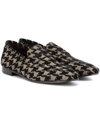 Bougeotte - Classic Tweed Loafers - Lyst