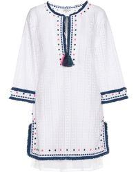 Talitha - Eyelet Lace Dress - Lyst