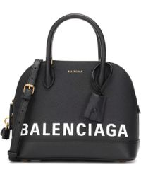 Balenciaga - Ville S Leather Tote - Lyst