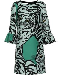 Valentino - Tiger Mini Dress - Lyst