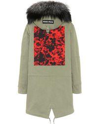 738d843b987d Women's Miu Miu Padded and down jackets Online Sale - Lyst