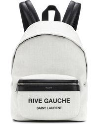 Saint Laurent - City Mini Rive Gauche Backpack - Lyst