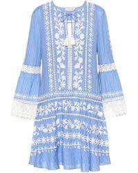 Tory Burch - Gabriella Cotton Dress - Lyst
