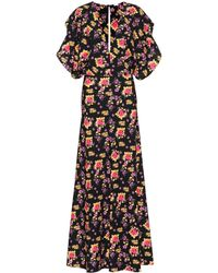 Dodo Bar Or - Floral Printed Jersey Maxi Dress - Lyst