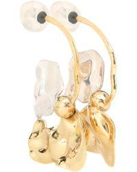 Ellery - Chess Warped Collage Earrings - Lyst