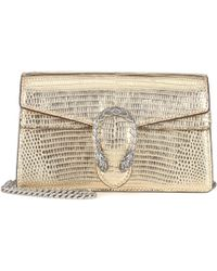 0bf3af9d7bc Gucci Dionysus Mini Metallic Bag in Metallic - Lyst