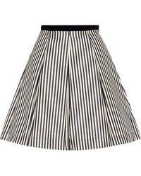 Moncler - Striped Skirt - Lyst