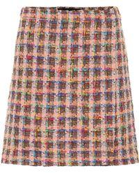 Etro - Tweed Miniskirt - Lyst