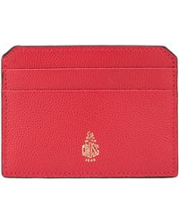 Mark Cross - Leather Card Holder - Lyst