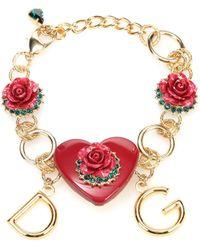 Dolce & Gabbana - Heart Bracelet - Lyst