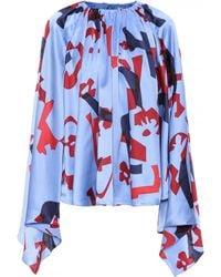 ROKSANDA - Giana Printed Silk Blouse - Lyst