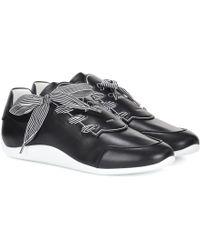 Roger Vivier - Sneakers Sporty Viv' aus Leder - Lyst