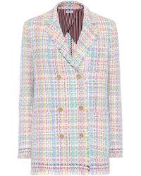Thom Browne - Cotton-blend Tweed Blazer - Lyst