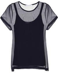 Max Mara - Domino Silk T-shirt - Lyst