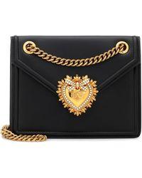 Dolce & Gabbana - Sac à bandoulière Devotion Medium en cuir - Lyst
