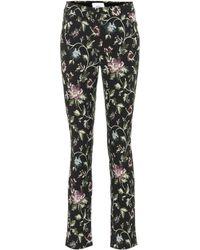 Erdem - Sidney Floral Jacquard Cotton Pants - Lyst