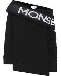 Monse - Wool Logo Sweatshirt - Lyst