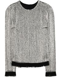 Tom Ford - Embellished Silk Top - Lyst