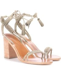 Zimmermann - Wrap Weave Leather Sandals - Lyst