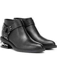 Nicholas Kirkwood - Ankle Boots Suzi aus Leder - Lyst