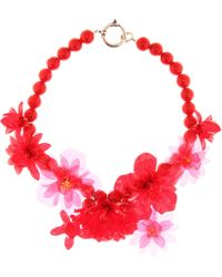 Isabel Marant - Flower Bead Necklace - Lyst