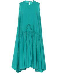 Delpozo - Cotton Swing Dress - Lyst