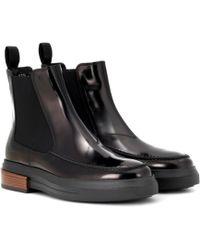 Tod's - Chelsea Boots aus Leder - Lyst