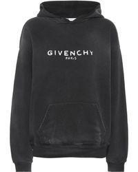 Givenchy - Bedruckter Hoodie aus Baumwolle - Lyst