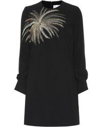 Victoria, Victoria Beckham - Vestido corto con adornos - Lyst
