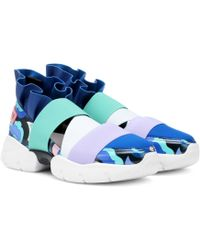 Emilio Pucci - Colorblocked Sneakers - Lyst