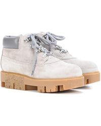 Lyst in Acne Tinne Round toe Ankle Botas in Lyst Rosa 960c39