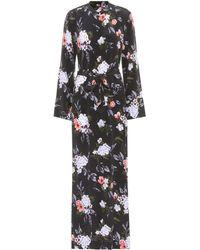 Equipment - Britten Silk Maxi Shirt Dress - Lyst