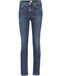 Citizens of Humanity - High-Rise Jeans Harlow - Lyst