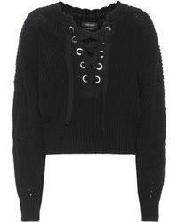 Isabel Marant - Laley Lace-up Jumper - Lyst