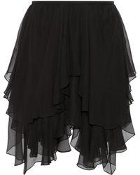 Chloé - Silk Skirt - Lyst