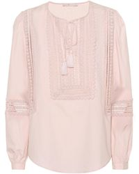 Tory Burch - Marissa Cotton Top - Lyst