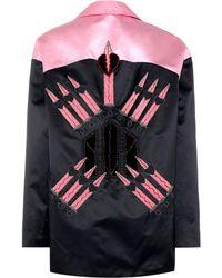 Valentino - Loveblade Silk Jacket - Lyst