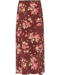 Zimmermann - Unbridled Contour Printed Skirt - Lyst