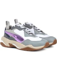 PUMA - Thunder Electric Leather Sneakers - Lyst