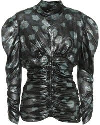 Isabel Marant - Parman Silk-blend Blouse - Lyst