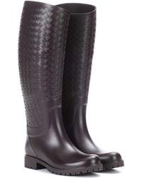 Bottega Veneta - Rubber Boots - Lyst